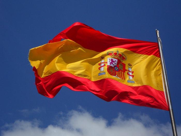 Spaniens flag